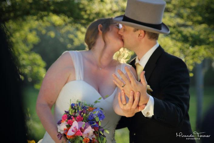 Bruiloft Ward en Muriël