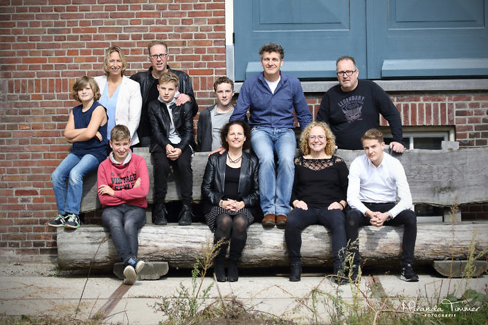 Fotoshoot familie Bakkers