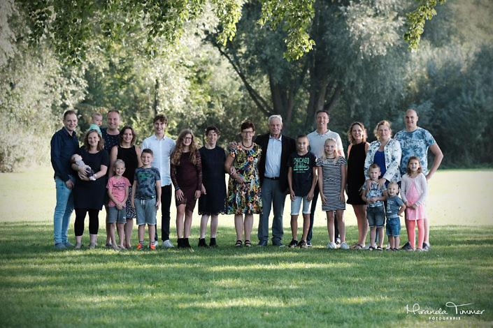 Fotoshoot familie van Paassen