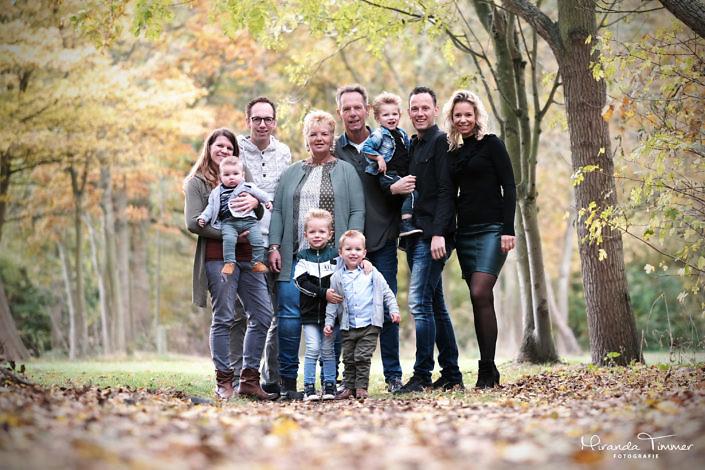 Fotoshoot familie van Santen
